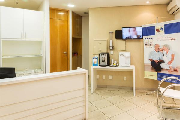 Sala de espera Instituto Vascular